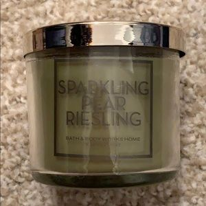 Bath & body works Sparkling Pear Riesling candle